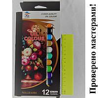 Набор художественных масляных красок 12 цв*12 мл.