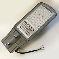Уличный LED светильник AVT 60W 6000К IP65 6000lm smd с линзами