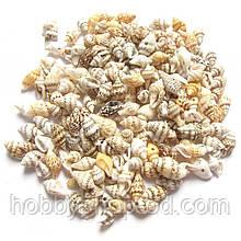 Бусины - ракушки (размер 1-1,5 см )в упаковке 35-40 г