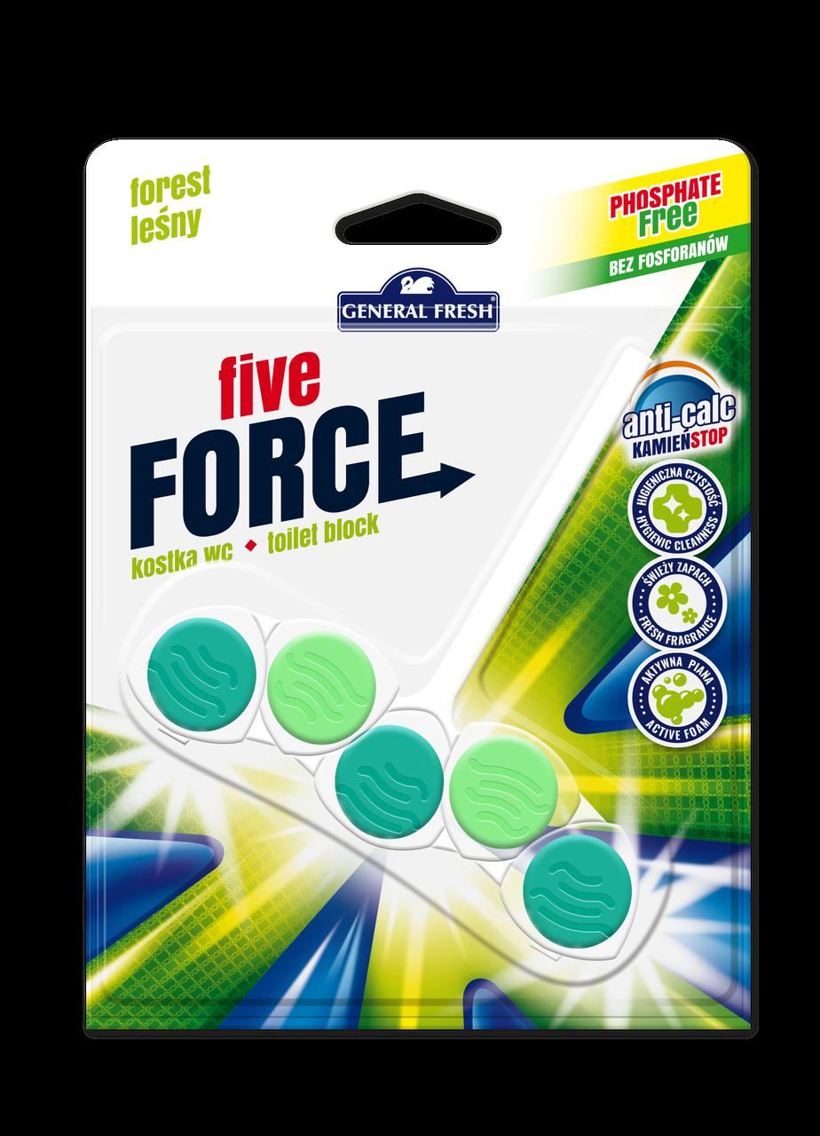 Туалетный блок General Fresh Five  Force WC  Forest  Польша