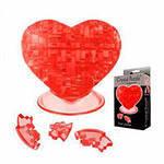 Пазли 3D кристали серце