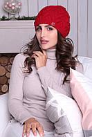 Красная шапочка-берет Дэйзи