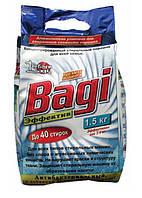 Стиральный  порошок Эффектив Bagi (Израиль) 1500гр (концентрат)