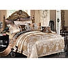 Жаккард-Сатин Комплект постельного белья евро макси ТМ Viluta Tiare 1735