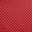 Декоративна тканина для штор, горошок, червоний, фото 2