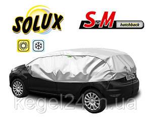 Чехол-тент для автомобиля SOLUX, размер S-M Hatchback ОРИГИНАЛ! Официальная ГАРАНТИЯ!