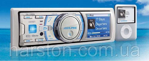 Морской MP3-ресивер Alpine iDA-X100M