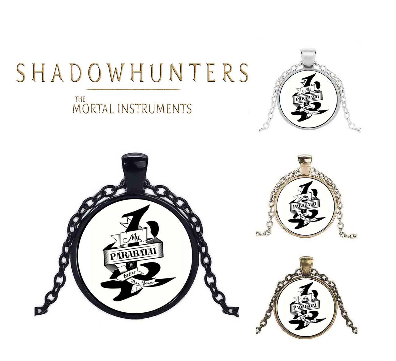 Кулон Сумеречные охотники Парабатай Shadowhunters