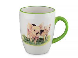 "Набор из 3 чашек ""Свинки"" 310 мл 358-856-3"
