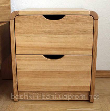 Прикроватная деревянная тумба, фото 2