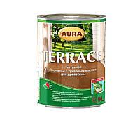 AURA Terrace пропитка с тунговым маслом для дерева Бесцветная 2,7 л