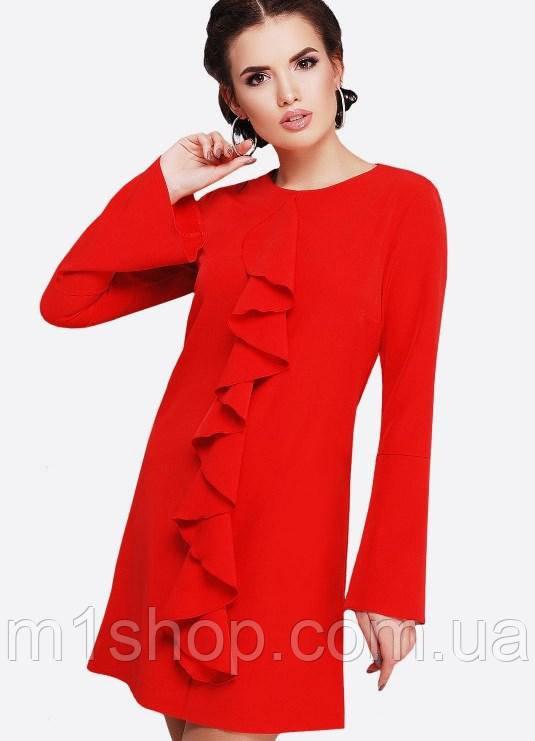 Женское платье с воланом по всей длинне (Miranda fup)