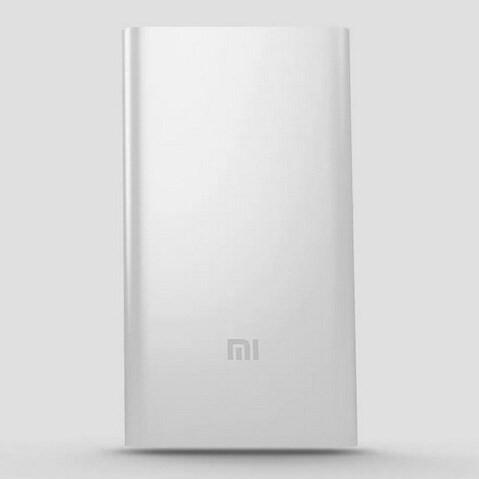 Внешний аккумулятор Xiaomi Mi Metal Power Bank 5000 mAh серебро