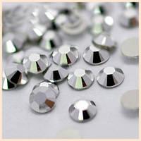 Стразы SS16 Silver (серебро) холодной фиксации. Цена за 144 шт