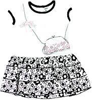 Платье для девочки Rozowy Dzien Белое