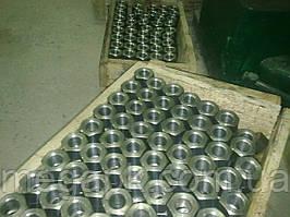 Гайка фланцевая М12 ГОСТ 9064-75 из нерж стали