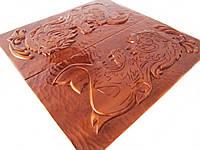 Нарды деревянные ручной работы **Львы**