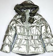 Курткa 133-82G-08-199 Серебристая