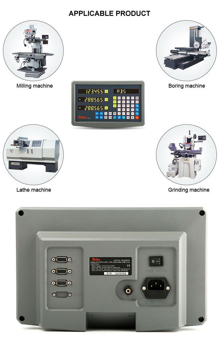 Комплект УЦИ DELOS для токарного станка на 3 оси РМЦ 710 мм