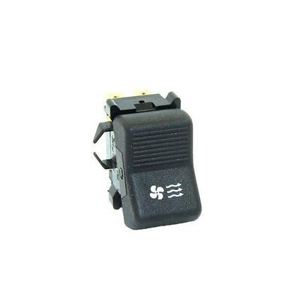 Клавиша включения вентилятора отопителя (6-ти контактная), фото 2