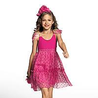 Платье для девочки Dziewczyna W Stylu Boho Розовое