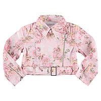 Куртка Wojcik Lady Flo Джинсовая Цветы