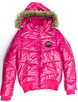Курткa 133-82G-01-640 Малиновая