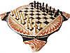 Эксклюзивные шахматы-нарды ручной работы