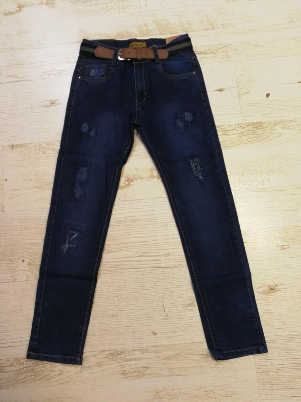 Джинсовые брюки для мальчиков Seagull 134-164 p.p.