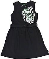 Платье для девочки-подростка 511270000 К70 Чёрное