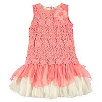 Платье Wojcik для девочки-подростка Roma Коралловое