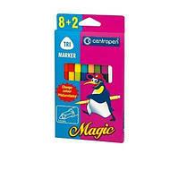 Фломастеры Centropen Magic 2549 8 цв + 2, фото 1