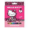 Фломастеры Hello Kitty Kite 12 цветов HK17-047