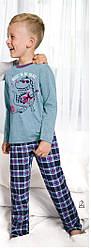 Пижама для мальчиков джинсовый Taro 443Pajamas Boy Long Franek. Польша