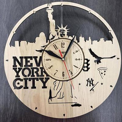 Настінні годинники з фанери