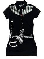 Платье для девочки-подростка Szkolny Nastroj Чёрное