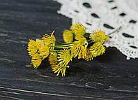Ветка-дополнитель  одуванчики желтые
