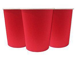 Святкові стаканчики червоні 10 штук