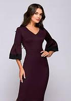 Платье футляр с расклешенным рукавом PR40, фото 1