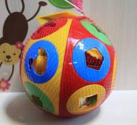 Сортер, шар большой Умный малыш Колобок пластик для малышей Технок