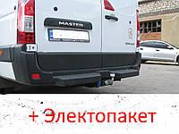 Фаркоп - Renault Master 3 Микроавтобус (2010--) L=4685 2 кол. из подножкой, фото 1