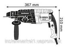 Перфоратор SDS-Plus Bosch GBH 2-24 DRE (790 Вт; 2,7 Дж), фото 2