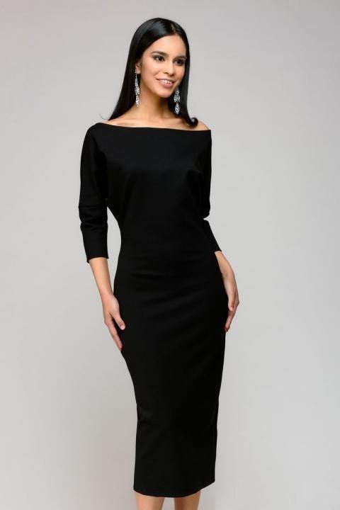 Классическое платье с рукавом  PR43, фото 1
