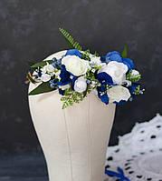 Венок с цветками шиповника