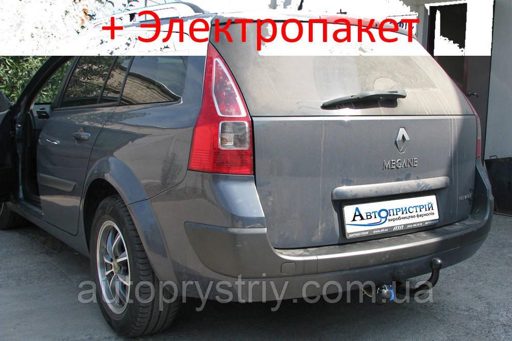 Фаркоп - Renault Megane 2 Универсал (2003-2008)