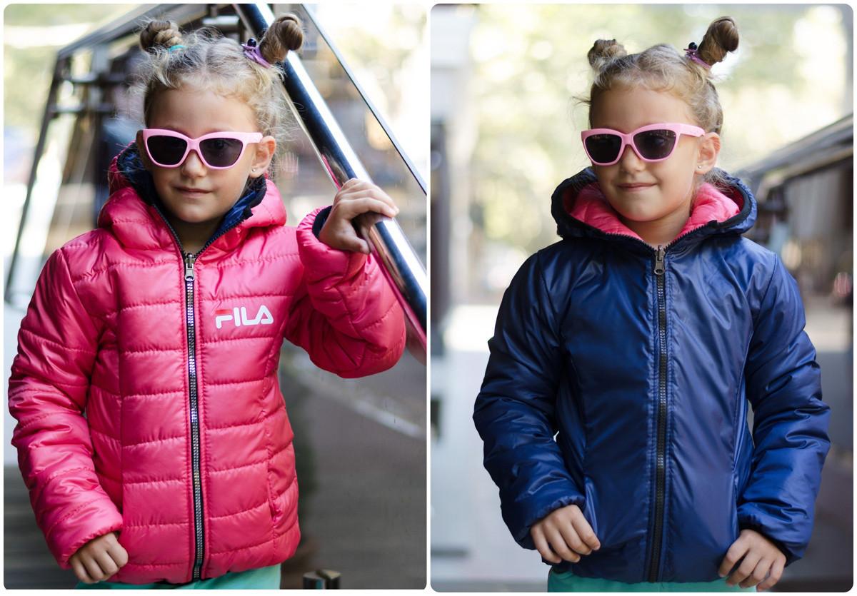 Детская двусторонняя куртка ев648