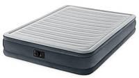 Двухспальная надувная кровать-матрас с встроенным насосом 203х152см, Intex 67770