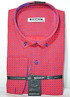 Мужская приталенная рубашка ZERMON, фото 1