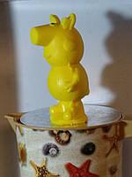 Праздничное мылко папа СВИН из сказки про свинку Пеппу. Вес 190 г. Любимые герои в подарок ребенку к рождеству