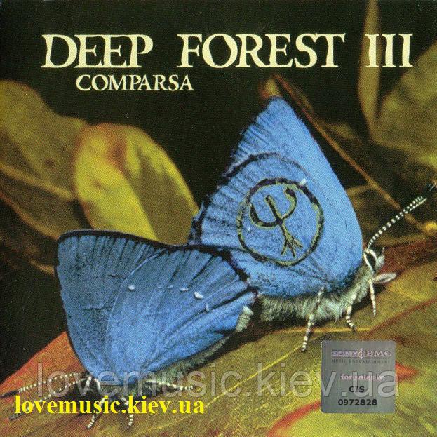 Музичний сд диск DEEP FOREST Comparsa (1997) (audio cd)